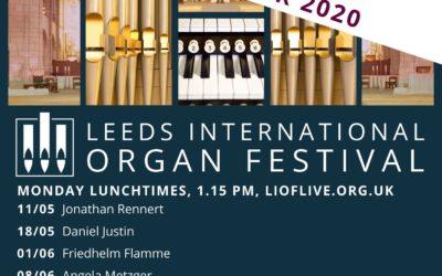 Leeds International Organ Festival Live