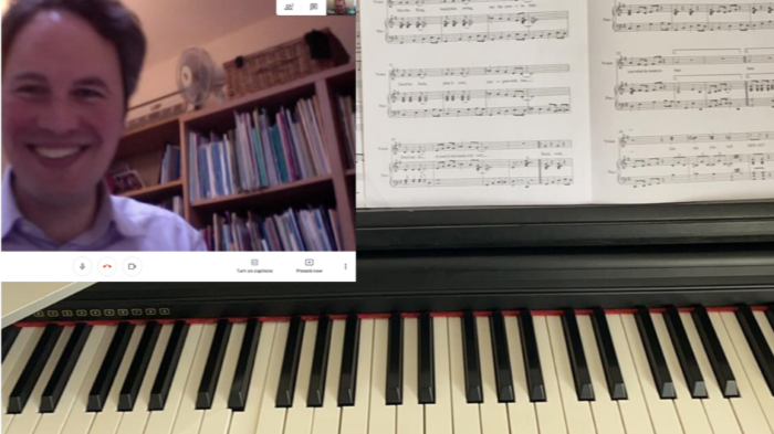 Moving the Organists' Training Programme online